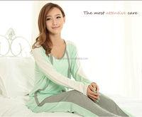 custom-made short deliver time ladies night sleeping wear AK161