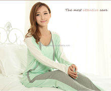 custom-made short deliver time ladies night sleeping wear AK161