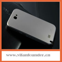 Top quality galaxy note 2 bumper frame case for samsung n7100 aluminum back cover