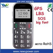gps tracker telefono mobile con grande chiave font del telefono mobile big con gps tracker