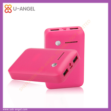 2015 top selling unique portable smart mobile 78oomah power bank