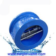 prevent the medium back fange check valve