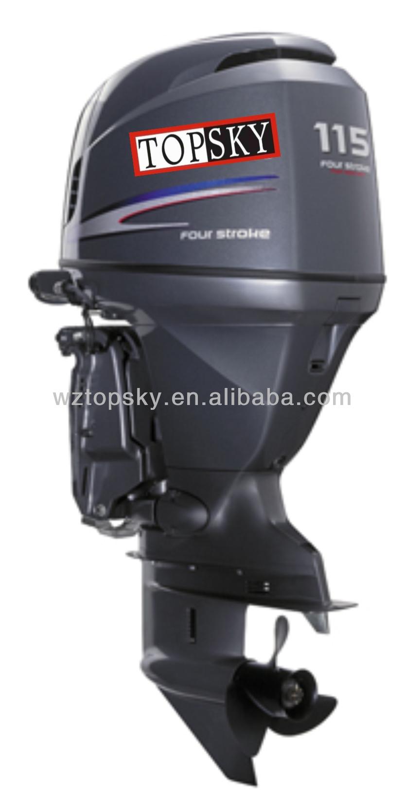 115hp 4 Stroke Outboard Motor Buy Outboard Engine