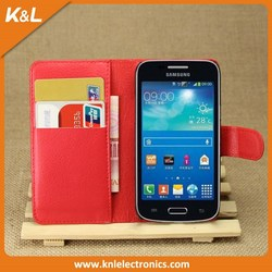Top Seller Folio cover PU Leather Wallet Case For Sony xperia T2