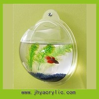Wall hanging Aquarium fish tank imported with clear color