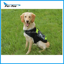 Wholesale Mesh Dog cape big dog police costumes vest with backpack and reflective strip