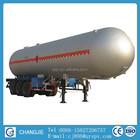 Boa qualidade 3 eixo 60 cbm tanque de glp semi reboque para venda