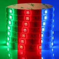 Multicolor LED epistar chip led CE ,RoSH 5050RGB strip 12v pure white new products updated