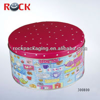 Metal tin can for candies