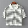 latest design women's office uniform design sewing pattern polo shirt