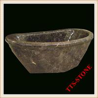 Antique polishing marble bath tub