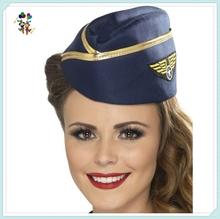 Ladies Navy Air Hostess Air Stewardess Hats With Badge HPC-1455