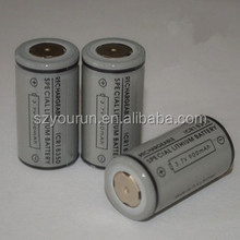 for electronic cigarette Li-ion battery 3.7V 900mAh 18350 battery