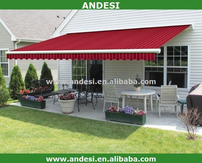 Waterproof Electric Retractable Balcony Awnings Buy Waterproof Canvas Awnin