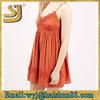 Stylish women one piece cotton summer dress, latest fashion dress design