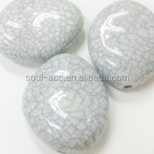 Wholesale Loose Chunky Crackle Plastic Spacer Beads for Jewelry Making