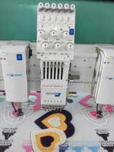 Cording device Ribbon device for one embroidery machine two functions