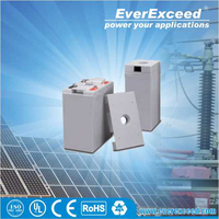 EverExceed maintenance free dry battery 12v 200ah