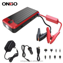 ONBO car first aid kit 12000mAh 12v portable battery jump starter car emergency mini jump starter