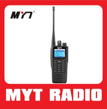 New design professional TDMA digital handheld DMR digital 2 way radio with IP65 water Resistance & Dust Protector MYT-DM3000