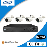 1080p full hd 4 channel 2 mp waterproof ir surveillance security camera cctv system