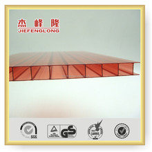 2 Layers Polycarbonate Sheet PC Sheet Sun Sheet Plastic Building Material 10 Years Gurantee solar panel
