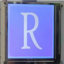 STN blue film graphics LCD