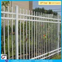 Decorative aluminum fencing panels for park, garden and home