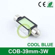 Upsale quality high power cob led car light COB-39mm-3W festoon lighting auto lamp bulb