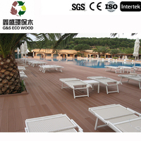 WPC Outside Floor Wood Plastic Composite/Eco-friendly Decorate Decking,high quality and low price wpc decking,waterproof