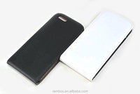 Mobile phone top open leather case flip cover for iPhone 6 4.7