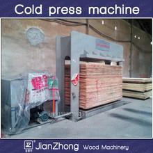 Máquina de prensado en frío para madera contrachapada / hidráulica de prensado en frío para chapa / carpintería de madera contrachapada máquina de la prensa
