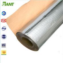 2015 factory aluminum foil insulation, aluminum foil backed insulation, heat insulation material with aluminum foil