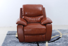 electric/manumotive pure genuine leather sofa/first class functional adjustable sofa recliner/high level leather sofa bed