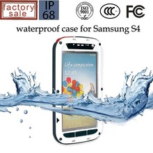 Factory Price High Quality for Samsung Galaxy S4 Cover Case Cell Phone Waterproof Case