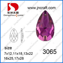 decorative flat back crystal sew on rhinestone accessories from china manufacturer