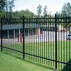 2014 1.8m(H)x2.4m(W) 3 rails hot sale faux wrought iron fence low price Anping Baochuan factory
