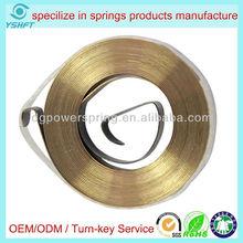 spiral spring for wind-up electrical equipment spiral torsion springs for rewinder