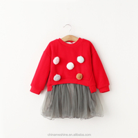 MS67748C hot sale velvet kids fancy dress ideas for girls
