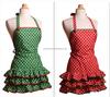 2015 New Arrival OEM Wholesale cheap cotton design kitchen apron