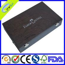 Top grade luxury black piano lacquer finish wooden box