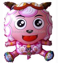 promotional custom logo cartoon animal helium foil balloon