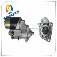 Diesel Engine Starter Motor 6D40 For Excavator M009T60271, 11T 24V 5.5KW