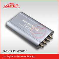 Car DVB-T2 TV receiver, Siano chipset ,Support H.264/AVC, MPEG2~MPEG4 Video Decode