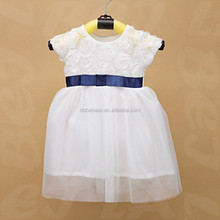 white korea summer fashion dress 2015 party dress for girls 2 years