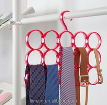 2015 news Fashion multi hangers for scraft,ties,belt round clothes hangers