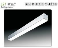Office surface mount ceiling t5 fluorescent light fixture