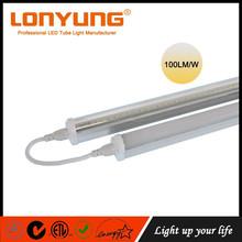 Aluminium led t8 fluorescent tubes t5 t4 t6 led interior lighting ETL/DLC