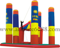 commercial inflatable bungee adult bungee