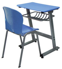 2013 Cheap Single Desk And Chair For School Furniture